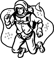 astronaut coloring pages wecoloringpage
