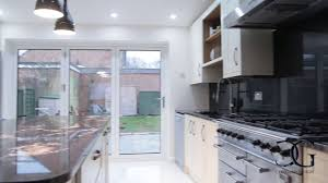 Kitchen Splashback Ideas Uk by The Longest Glass Kitchen Splashback In The Uk Creoglass Youtube