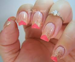 edgy glitter glam prom nail design youtube