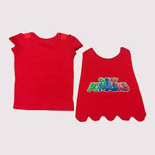 toddler girls u0027 pj masks owlette shirt red 3t target