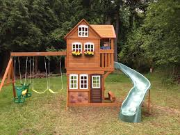 how to build playhouse plans with swing set pdf plans