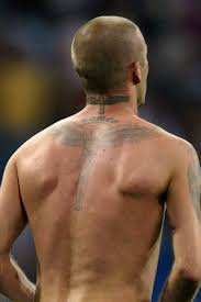 athletes and their back tattoos tattoomagz