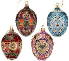 egg ornaments joan rivers 2014 set of 4 russian inspired egg ornaments page 1