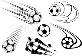 football and soccer symbols mascots and emblems for sports design