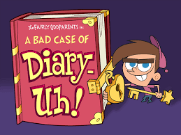 the fairly oddparents image titlecard a bad case of diary uh jpg fairly odd parents