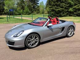 boxster porsche black 2015 boxster gt silver garnet red leather interior black