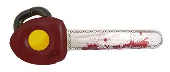 halloween inflatable halloween inflatable blood stained chainsaw fake weapon prop fancy