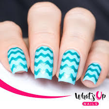 wave tape for nail art