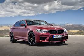 prototype drive 2018 bmw m5 the redesigned 2018 bmw m5 starts at 103 595 motor trend