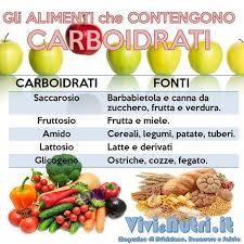 glucidi alimenti quali sono i carboidrati vegetali lettera43 it
