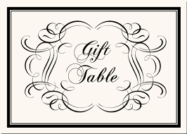 wedding gift table sign wedding table numbers with flowers garden theme table numbers