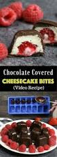 chocolate covered cheesecake bites recipe with video tipbuzz