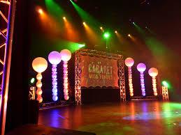 Decoration De Ballon Pour Mariage Décoration De Scène En Ballons Pour Une Soirée Cabaret