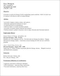 resume exles for therapist physical therapist assistant resume exles