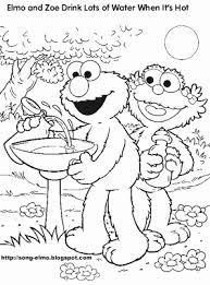 butterfly coloring sheets sesame street presents elmo coloring pages