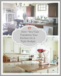 Decorating Your Kitchen On A Budget 255 Best Best Of White Lace Cottage Images On Pinterest White