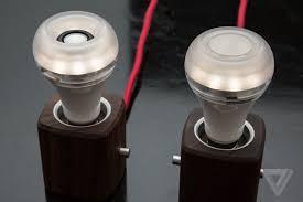 Led Light Bulb Speaker This Light Bulb Pulls Double Duty As A Wireless Speaker The Verge