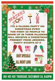 christmas eve pajama party