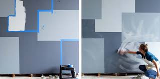 Behind The Bedroom Wall Kindle How To Paint A Patchwork Denim Wall With Colorhouse Parachute Blog