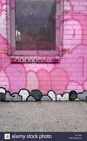 graffiti wall mural street art along meserole st in the east stock graffiti wall mural street art along meserole st in the east williamsburg brunswick section of brooklyn new york city usa tags and an octopus
