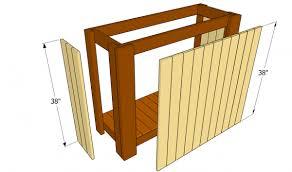 outdoor bar plans myoutdoorplans free woodworking plans and