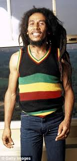 pictures of mixed race a line bobbed hair new book reveals how reggae legend bob marley blacked up in