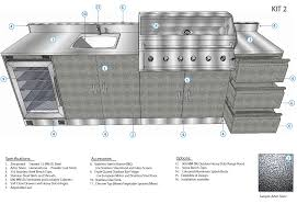 schmick alfresco outdoor kitchen setup with barbecue sink and