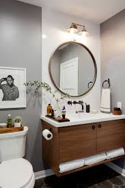 Pinterest Bathroom Mirrors Best 25 Bathroom Mirror Ideas On Pinterest Circle Light