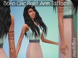 boho chic tattoos