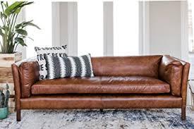 Century Leather Sofa Amazon Com Modern Leather Sofa By Edloe Finch Mid Century