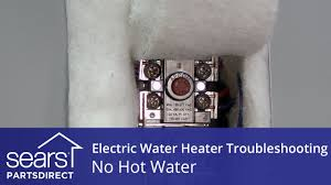 no water electric water heater troubleshooting youtube