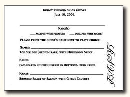 wedding response card wording 5 types of wedding rsvp card wording response cards wedding