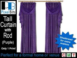 Purple Drapes Or Curtains Second Marketplace Purple Drapes With Rod