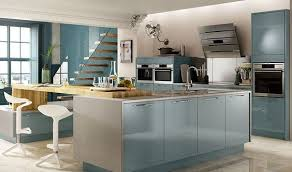 esker azure gloss kitchen wickes co uk furniture and decor