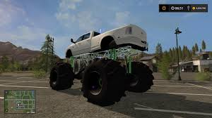mudding truck dodge mud truck lifted v1 0 fs17 farming simulator 17 mod fs