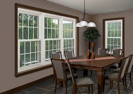 EnergyEfficient Replacement Windows For A Maintenance Free Home - Dining room windows