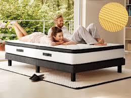 kaltschaum topper 160x200 hn8 schlafsysteme 7 zonen kaltschaum matratze mit integriertem