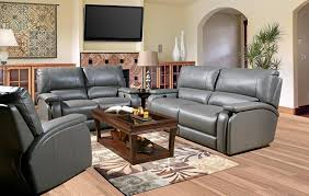living room lovely ashley leather reclining sofa wooden set