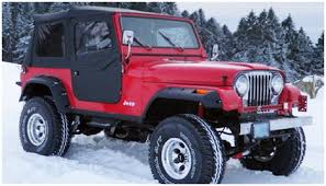 jeep matte maroon jeep bushwacker