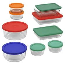 Pyrex In Toaster Oven Pyrex 18pc Glass Storage Set Target