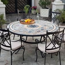 Semi Circle Patio Table by 60 Round Outdoor Dining Table Inside 60 Round Patio Table
