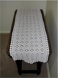 Crochet Table Runner Pattern Crochet Fun