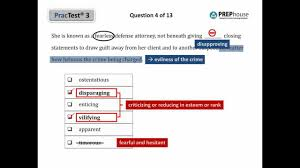 Sample Gre Score Report Prephouse Gre Verbal Practice Test Youtube