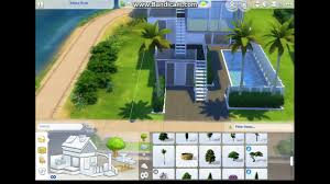 3 story pool house a sims 4 speed build youtube