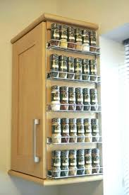 spice rack cabinet insert spice storage cabinet upper cabinet spice rack pull out spice
