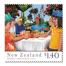 virtual new zealand stamps 2013 christmas