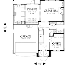 starter home plans starter home plan with country charm 6990am