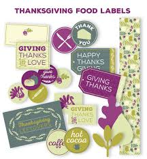 thanksgiving labels and tags for left overs