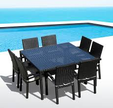 Synthetic Wood Patio Furniture by Modern Furniture Modern Wood Outdoor Furniture Expansive Slate