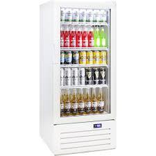 schmick glass 1 door upright short commercial energy saving bar